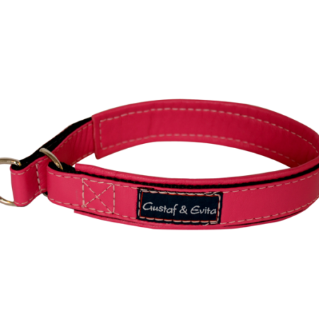 G&E HALF-CHOKE CERISE LEATHER