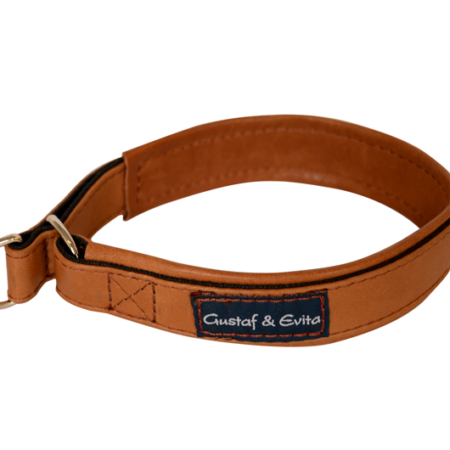 G&E HALF-CHOKE COGNAC LEATHER