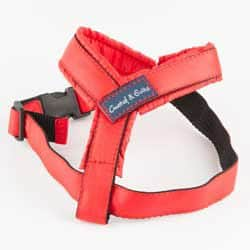 G&E HARNESS RED TEXTILE