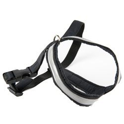 G&E HARNESS BLACK REFLEX