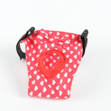 G&E FEMALE DOG PANTIE VALENTINE