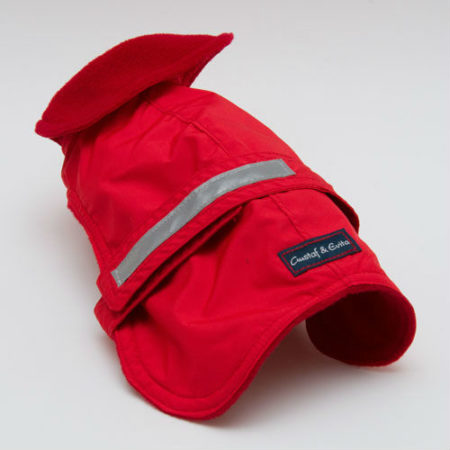 G&E COAT FLEECE RED