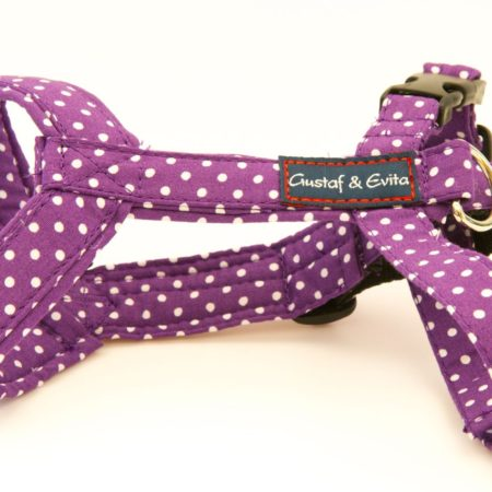 G&E CAT HARNESS PURPLE