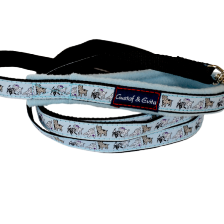 G&E LEASH PUPPY BLUE 180cm