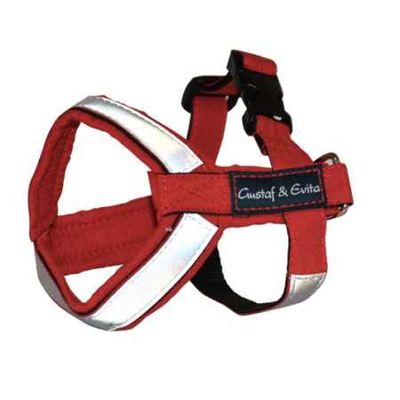 G&E HARNESS PRO RED REFLEX