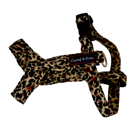 G&E HARNESS CAT LEOPARD