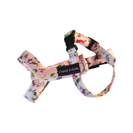 G&E HARNESS CAT PINK