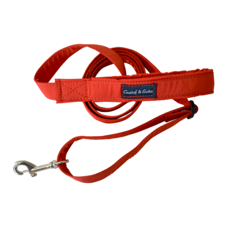 G&E LEASH TEXTILE RED 24/7