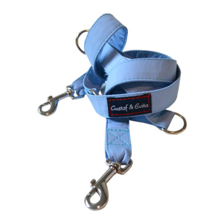 G&E HUNT/JOGGING LEASH BABYBLUE 2CM