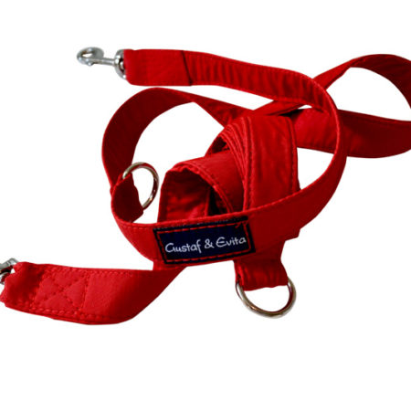 G&E HUNT/JOGGING LEASH RED 2CM