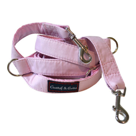 G&E HUNT/JOGGING LEASH PINK 2CM