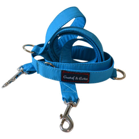 G&E HUNT/JOGGING LEASH TURQUOISE 2CM