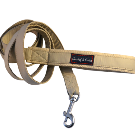 G&E LEASH BEIGE