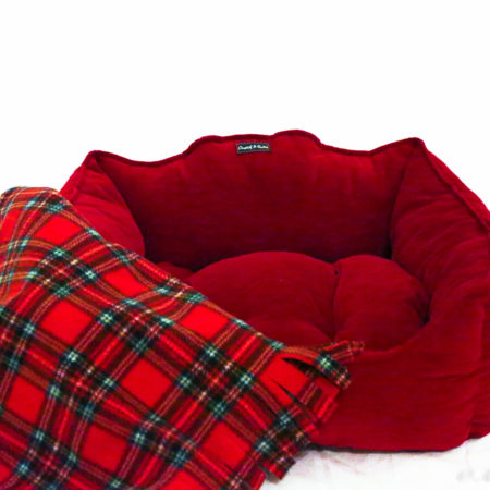 G&E FLEECE BLANKET SCOTTISH