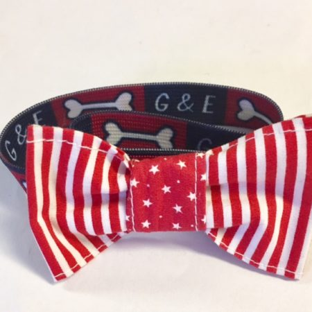 G&E BOWTIE RED NAVY