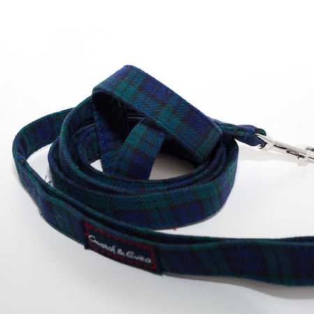 G&E LEASH BLUE SQUARE
