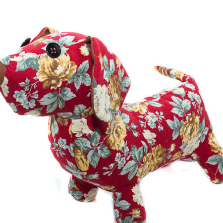 G&E DOG OLIVIA/RED ROSE