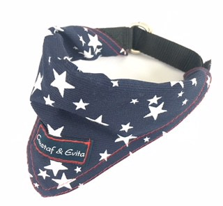 G&E BANDANA BLUE STAR