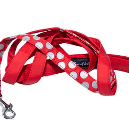 G&E LEASH SPOTLIGHT RED