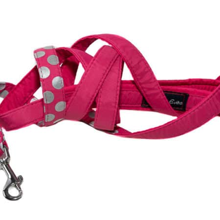 G&E LEASH SPOTLIGHT CERISE