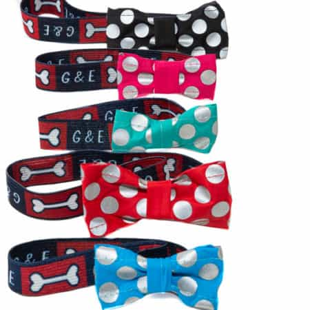 G&E BOW TIE SPOTLIGHT RED