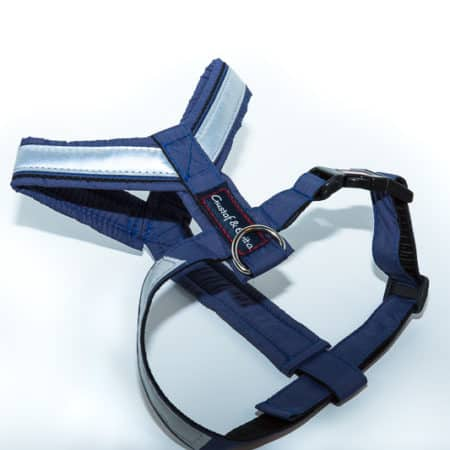 G&E PRO HARNESS NAVY BLUE REFLECTIVE