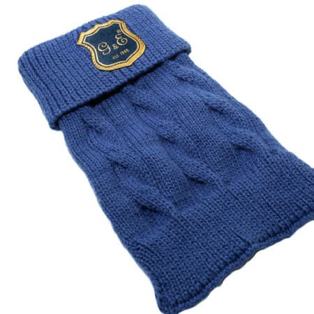 G&E Knitted Blue