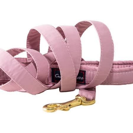G&E LEASH OLD PINK